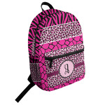 Triple Animal Print Student Backpack (Personalized)