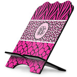 Triple Animal Print Stylized Tablet Stand (Personalized)