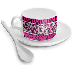 Triple Animal Print Tea Cup - Single (Personalized)
