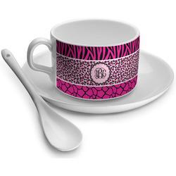 Triple Animal Print Tea Cups (Personalized)