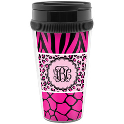Triple Animal Print Travel Mugs (Personalized)