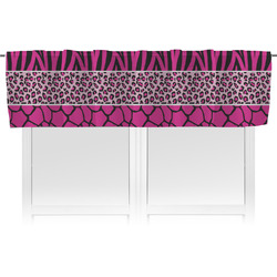 Triple Animal Print Valance (Personalized)