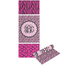 Triple Animal Print Yoga Mat - Printable Front and Back (Personalized)