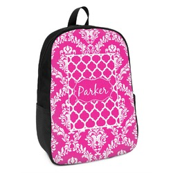 Moroccan & Damask Kids Backpack (Personalized)