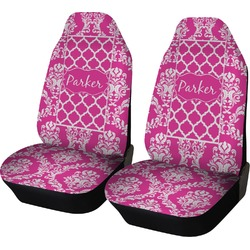 Moroccan & Damask Car Seat Covers (Set of Two) (Personalized)