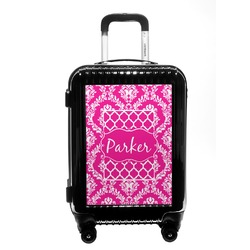 Moroccan & Damask Carry On Hard Shell Suitcase (Personalized)