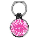 Moroccan & Damask Cell Phone Ring Stand & Holder (Personalized)
