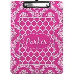 Moroccan & Damask Clipboard (Personalized)