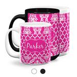 Moroccan & Damask Coffee Mugs (Personalized)