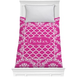 Moroccan & Damask Comforter - Twin (Personalized)