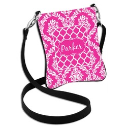 Moroccan & Damask Cross Body Bag - 2 Sizes (Personalized)