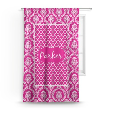 """Moroccan & Damask Curtain - 50""""x84"""" Panel (Personalized)"""