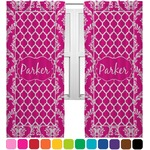 Moroccan & Damask Curtains (2 Panels Per Set) (Personalized)
