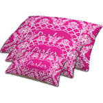 Moroccan & Damask Dog Bed w/ Name or Text