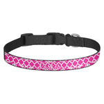 Moroccan & Damask Dog Collar (Personalized)