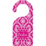 Moroccan & Damask Door Hanger (Personalized)