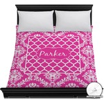 Moroccan & Damask Duvet Cover (Personalized)