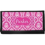 Moroccan & Damask Canvas Checkbook Cover (Personalized)