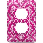 Moroccan & Damask Electric Outlet Plate (Personalized)
