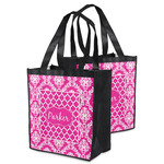 Moroccan & Damask Grocery Bag (Personalized)