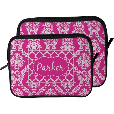Moroccan & Damask Laptop Sleeve / Case (Personalized)