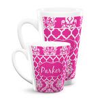 Moroccan & Damask Latte Mug (Personalized)