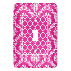 Moroccan & Damask Light Switch Covers - Multiple Toggle Options Available (Personalized)
