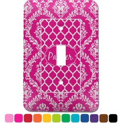 Moroccan & Damask Light Switch Cover (Single Toggle) (Personalized)