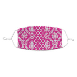 Moroccan & Damask Kid's Cloth Face Mask (Personalized)