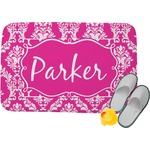 Moroccan & Damask Memory Foam Bath Mat (Personalized)