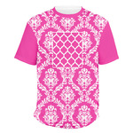 Moroccan & Damask Men's Crew T-Shirt (Personalized)
