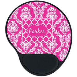 Moroccan & Damask Mouse Pad with Wrist Support