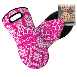 Moroccan & Damask Neoprene Oven Mitt (Personalized)