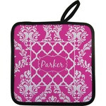 Moroccan & Damask Pot Holder (Personalized)