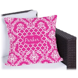 """Moroccan & Damask Outdoor Pillow - 20"""" (Personalized)"""