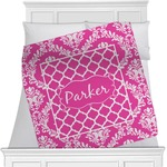 Moroccan & Damask Blanket (Personalized)