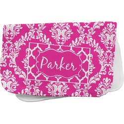 Moroccan & Damask Burp Cloth (Personalized)