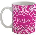 Moroccan & Damask Coffee Mug (Personalized)