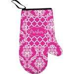 Moroccan & Damask Right Oven Mitt (Personalized)