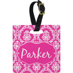 Moroccan & Damask Luggage Tags (Personalized)