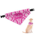 Moroccan & Damask Dog Bandana (Personalized)