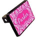 """Moroccan & Damask Rectangular Trailer Hitch Cover - 2"""" (Personalized)"""
