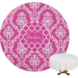 Moroccan & Damask Round Tablecloth (Personalized)