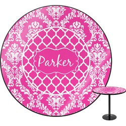 Moroccan & Damask Round Table (Personalized)