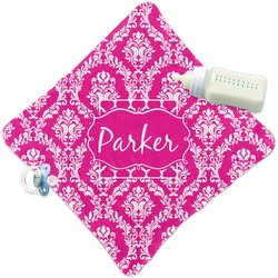 Moroccan & Damask Security Blanket (Personalized)
