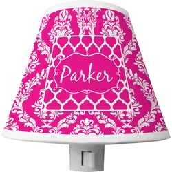 Moroccan & Damask Shade Night Light (Personalized)