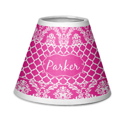 Moroccan & Damask Chandelier Lamp Shade (Personalized)