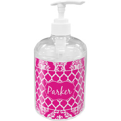 Moroccan & Damask Soap / Lotion Dispenser (Personalized)