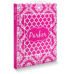 Moroccan & Damask Softbound Notebook (Personalized)