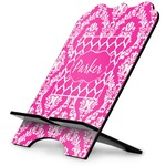 Moroccan & Damask Stylized Tablet Stand (Personalized)